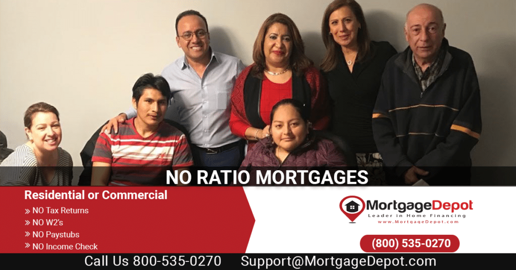 no ratio mortgages